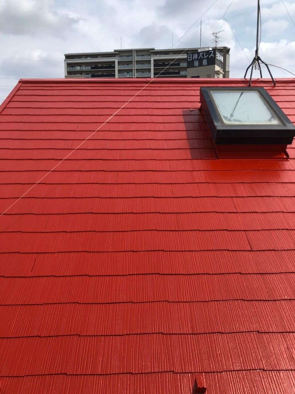 東京都足立区 個人宅様屋根塗装工事